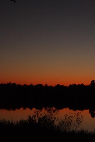 Sunset at Camel Lake