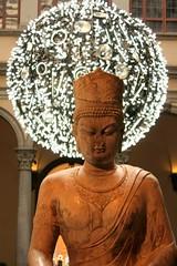 A Palazzo Strozzi (renato47) Tags: china light italy stone canon tuscany firenze budda pietra statua cina luce fiatlux palazzostrozzi eos450d