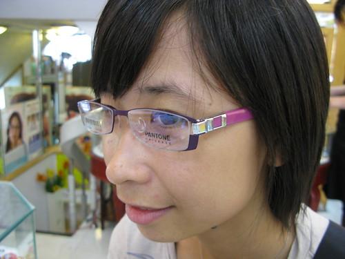 哪一隻眼鏡好看呢~~