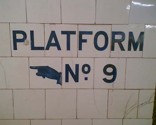 Flinders Street Station - to platform 9