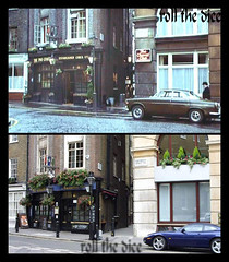 The Big Sleep 1978-2008 `part 2 (roll the dice) Tags: uk london classic cars film beer westminster car club movie pub wine ale location victoria smoking spirits 1978 pubs filming fag dartmouth lager locations boozer sw1 detective oldandnew thriller thebigsleep stjamess pastandpresent londonist robertmitchum michaelwinner hereandnow phillipmarlowe 2chairman