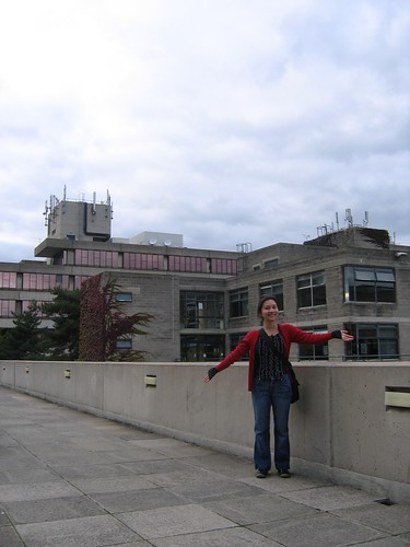 Katie at UEA