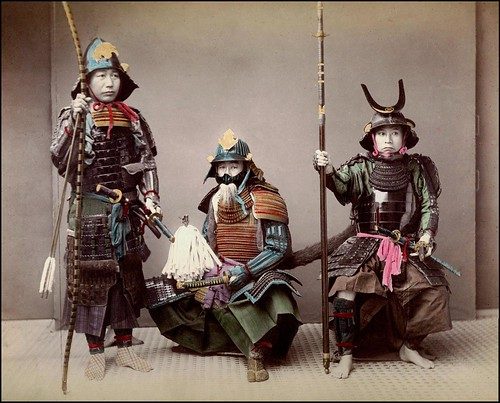 JAPANESE ARMOR in the MEIJI ERA -- or, Don't Ask, Don't Tell in OLD JAPAN