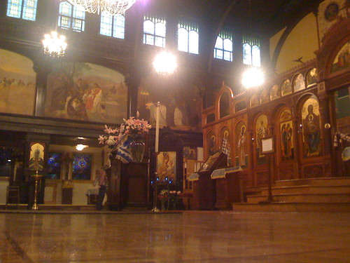 The Russian Orthodox Cathedral of the Holy Virgin Protection in the East Village