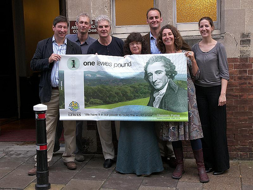 Lewes Pound team