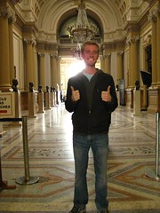 Nathan in El Hall de los Pasos Perdidos in National Congress.