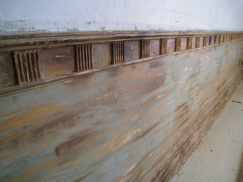Detail of Moulding Stripped