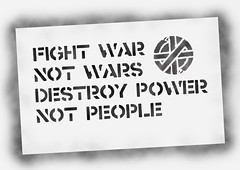 crass stencil fight war not wars (Discovermontenegro) Tags: stencil punk peace anarchy crass hardcorepunk