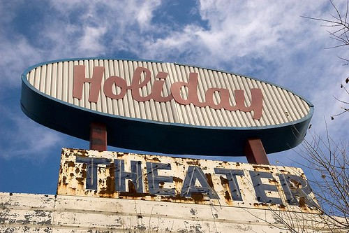 Holiday Theater - Route 66, Springfield, Missouri