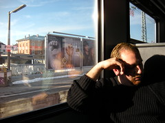 Jon on Train to Neuschwanstein Castle