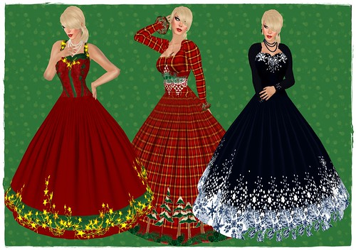 inaras xmas gowns