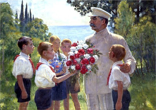 Roses_for_Stalin_by_Vladimirskij by you.