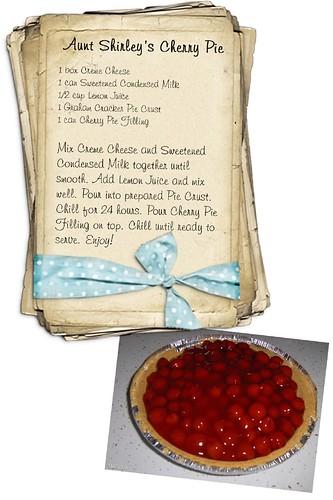 Aunt Shirley's Cherry Pie Recipe