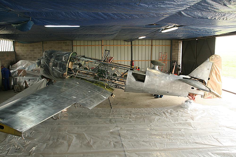 Restauration d'un SNJ-5 3119052200_be8d0b3293_o