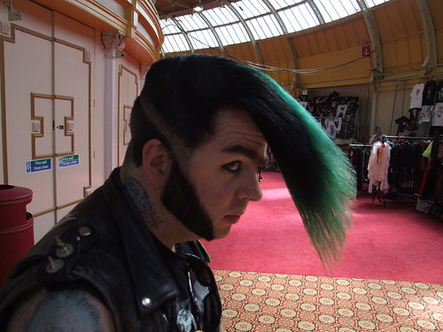 Reballion punk hairstyle 2008