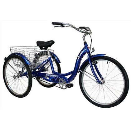 Schwinn Adult Tricycle Some adult tricycles are built for ease of use and ...