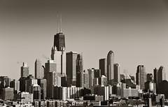 Big John and the Chicago Skyline (rjseg1) Tags: city urban chicago tower skyline skyscraper johnhancock segal bigjohn rjseg1