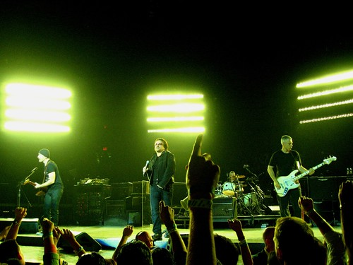 U2, Live @ Madison Square Garden, New York City