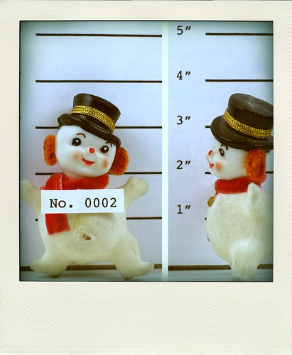 Wanted: Frosty the Snowman
