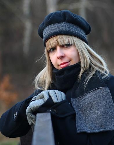 Télre öltözve