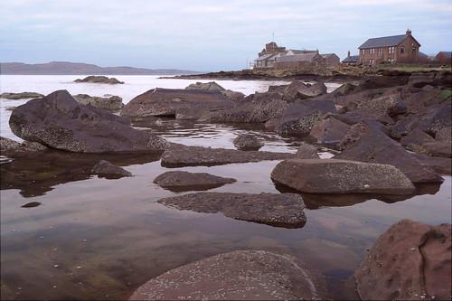 Portencross shore 25Dec08