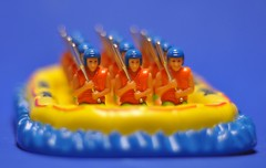12 Men in a Raft (ricko) Tags: men toys puzzle raft nikkor 50mmf18 1on1bokehdofphotooftheweek 1on1bokehdofphotooftheweekdecember2008