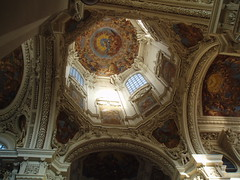 Frescoed Cupola (Aidan McRae Thomson) Tags: germany bayern deutschland bavaria cathedral dom baroque passau