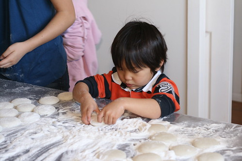 Mochi making with my family