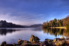 Clear sky, still waters (Etrusia UK) Tags: christmas uk lake water landscapes nikon zoom unitedkingdom wideangle northernireland ni wmp pictureperfect ulster castlewellan d300 nikkorlens codown 18200mm nikonlens vrlens nikon18200mm nikkor18200mmvr nikkor18200mm nikon18200mmvr 18200mmlens ysplix nikond300 awesomepictureaward williamphillipsecocentenary2011