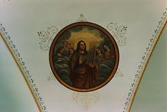 St. Ignatius mission church, Montana, fresco (groenling) Tags: church saint montana mt organ mission cecilia fresco stignatius carignano portative mmiia