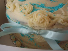 Cake for newborn baby boy (Hey Liz!) Tags: birthday cupcakes baptism greece birthdaycake       cupcakesetc