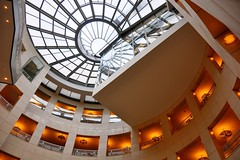 San Francisco Public Library (jpaulus) Tags: sanfrancisco library atrium hdr photomatix simplystunningshots