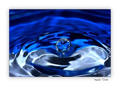 Gota a gota 12 (Manolo Torres) Tags: macro waterdrop gotadeagua