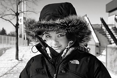 Vro (-Antoine-) Tags: park winter woman snow canada cold girl weather canon eos montral quebec montreal coat hiver flash january peremarquette rosemont jacket qubec hood invierno neige northface veronique janvier fille vero parc 2009 eos10d 1740mm 1740 vronique glace boulet vro hooded 580 speedlite petitepatrie capuche canon1740mm premarquette 580exii exii speedlite580exii zackvero zackperemarq0005 antoinerouleau