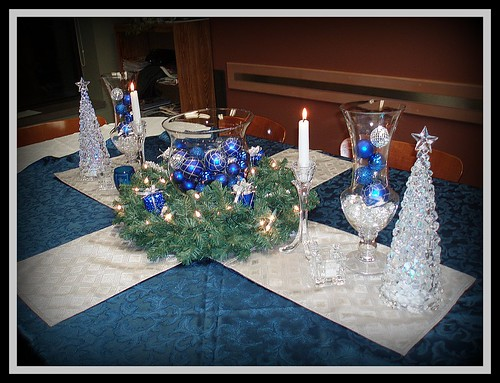 Christmas Tablescapes Part 2