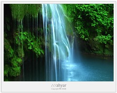KabodWall Waterfall (///ahyar) Tags: wallpaper color green nature colors canon landscape photography landscapes persian waterfall paradise iran picture gathering  natures gorgan  golestan  mahyar  seyfi   kabodwall
