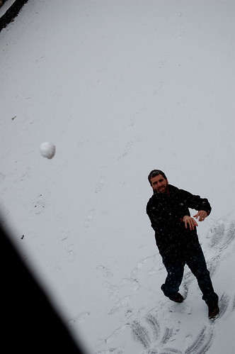 Year's first snowball