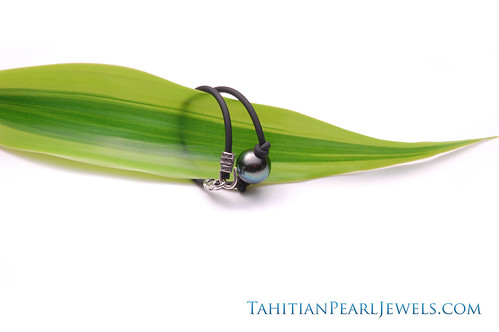 Simple Tahitian Pearl Bracelet