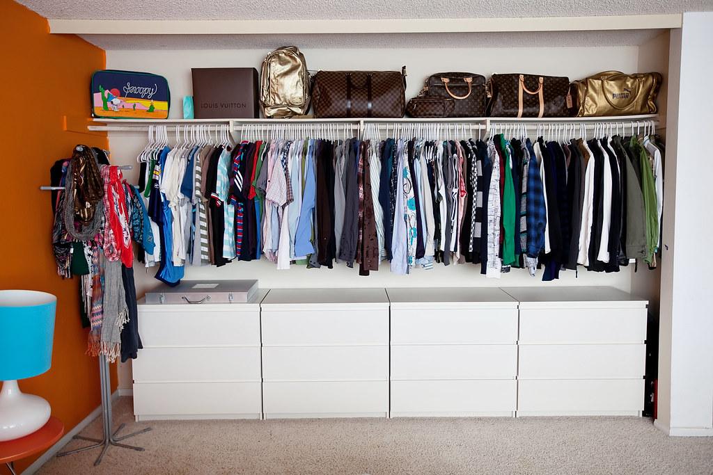 Half Closet.