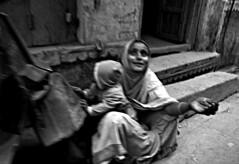 India - Kolkata (luca marella) Tags: street city travel people bw woman india white black asia hand poor social pb bn e kolkata bianco nero marella marellaluca