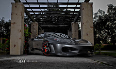 Ferrari F-430 on 360 Forged CF Straight 5ive (360 Forged) Tags: concave hre vossen hrewheels adv1 vossenwheels 360forged advanceone deepconcave adv1wheels adv05