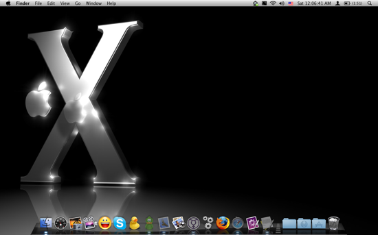 Shiny Mac OS X Leopard