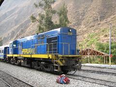 Le petit train de Machu Picchu