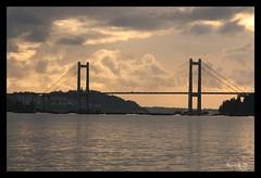 Ponte de Rande (_madmarx_) Tags: bridge sea architecture clouds puente arquitectura ponte galicia nubes pontevedra vigo riasbaixas auga morrazo pontederande moaa sansimn aplusphoto madmarx