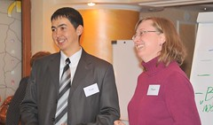 Ulan and Marit, Regional Advocacy Training, Almaty, Kazakhstan, January 16, 2009 (Ivan S. Abrams) Tags: nikon ivan s tajikistan lawyers nikkor abrams uzbekistan centralasia kyrgyzstan nikondigital sovietunion ussr smrgsbord turkmenistan advocates exussr kazakshtan onlythebestare abaroli ivansabrams trainplanepro nikond700 safyan nikon24120mmf3556gvr ivanabrams abramsivan copyrightivansafyanabrams2009allrightsreservedunauthorizeduseprohibitedbylawpropertyofivansafyanabrams unauthorizeduseconstitutestheft thisphotographwasmadebyivansafyanabramswhoretainsallrightstheretoc2009ivansafyanabrams nikkor24120mmf35mmf3556gvr abramsandmcdanielinternationallawandeconomicdiplomacy ivansabramsarizonaattorney ivansabramsbauniversityofpittsburghjduniversityofpittsburghllmuniversityofarizonainternationallawyer