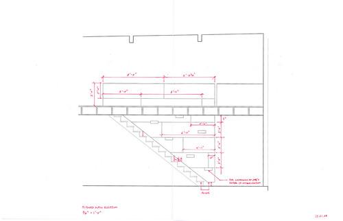 Plywood Stair Wall Elev 2