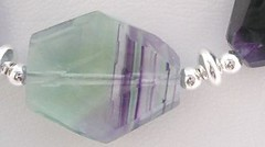 fluorite clearly showing colour zoning