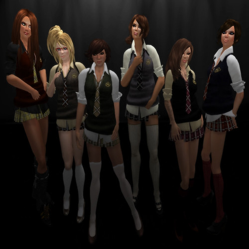 Schoolgirls!