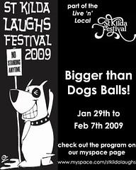 St Kilda Laughs Festival 2009