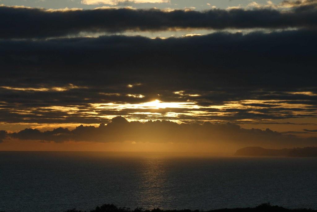 Sunset January 24 2009 Bluffs